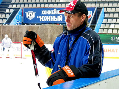 Первый лёд «Южного Урала»