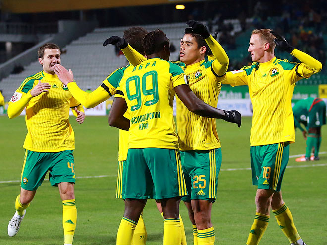 Игроки ФК «Кубань»