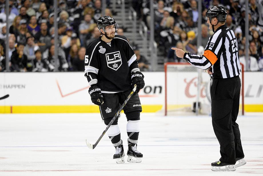 НХЛ дисквалифицировала Вячеслава Войнова насезон-2019/20— НХЛ, «Лос-Анджелес»