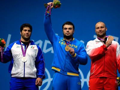 Украина завоевала третью золотую медаль