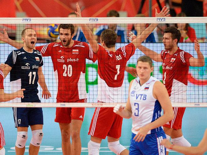 Волейбол. Чемпионат мира. Польша — Россия — 3:2