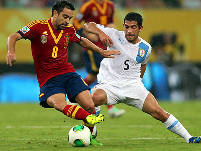 Испания — Уругвай — 2:1