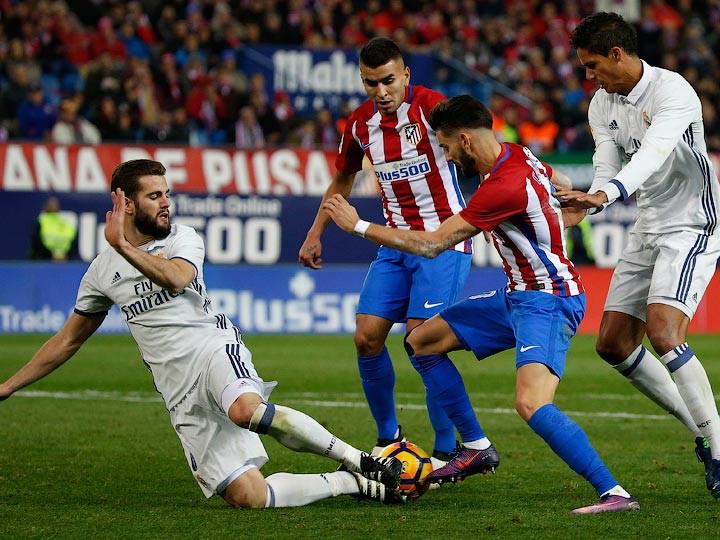 «Реал» сыграл вничью с«Атлетико» вмадридском дерби