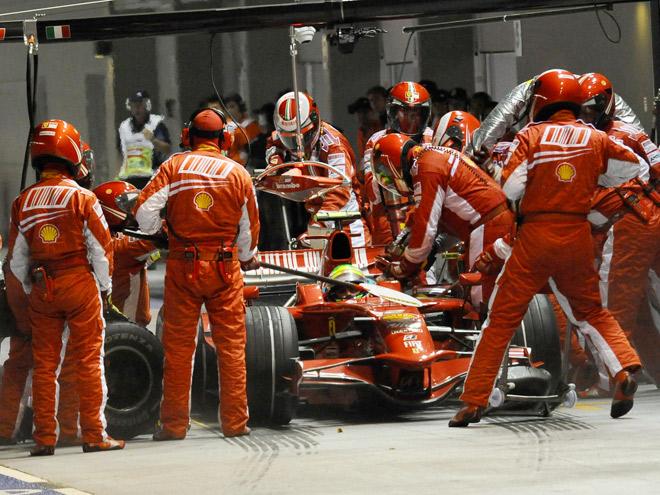 Гран-при Сингапура-2008: Фелипе Масса