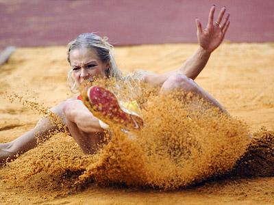 Прыжок Дарьи Клишиной