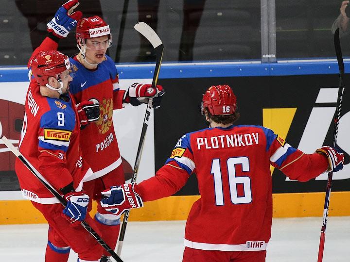 Чехия 16 Россия Хоккей