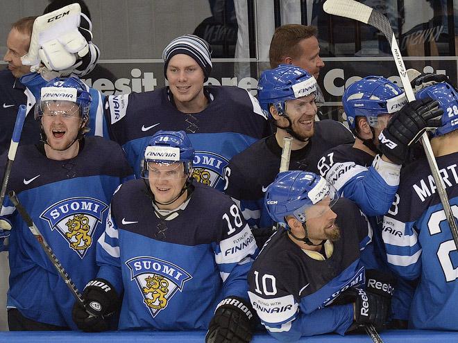 Сборная Финляндии вышла в финал ЧМ