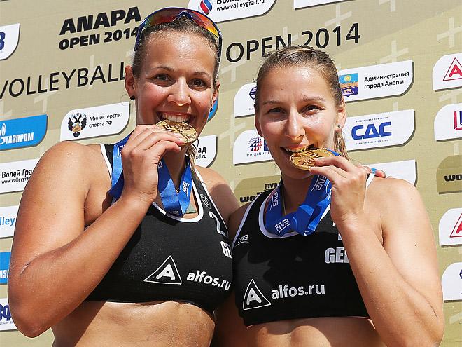 Виктория Бинек и Юлия Гроснер