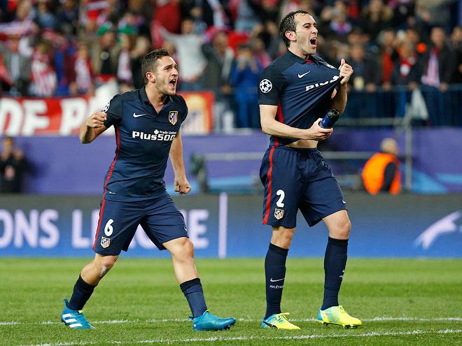 «Атлетико» — «Барселона» — 2:0