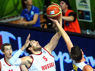 Евробаскет-2013: Россия проиграла Швеции