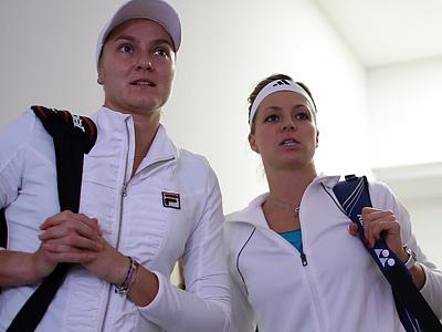 Надежда Петрова и Мария Кириленко