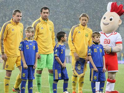 Матчи сборной Украины на нейтральных полях