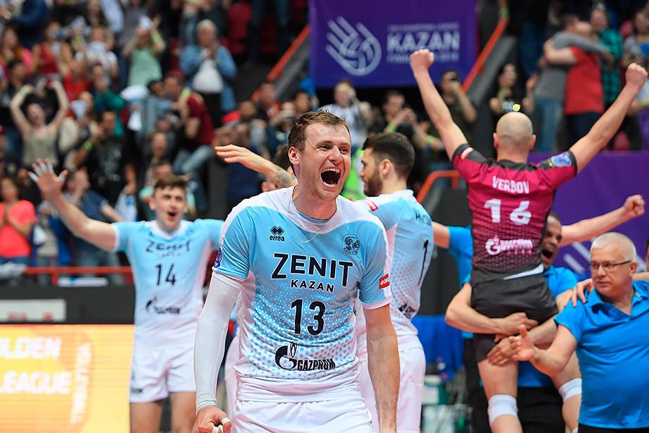 «Зенит-Казань» — победитель Лиги чемпионов