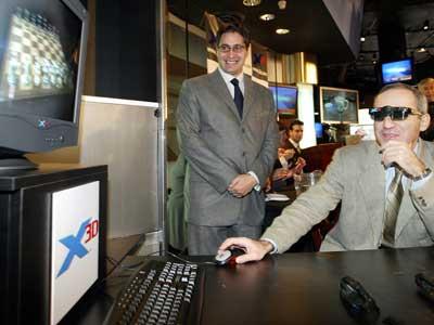 Гарри Каспаров осваивает новые технологии