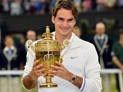 Федерер в седьмой раз в карьере победил на Уимблдоне