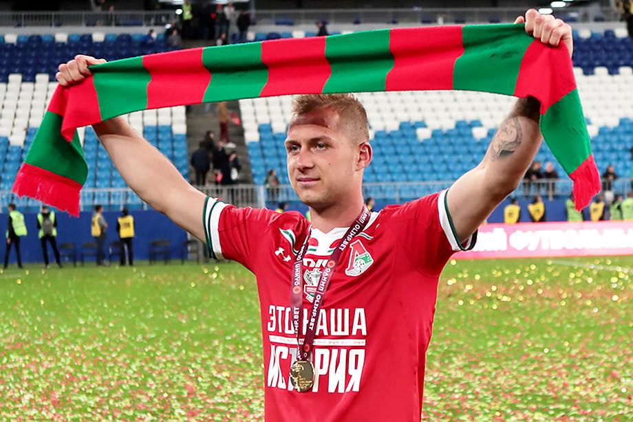 Дмитрий Баринов забил победный гол в финале Кубка