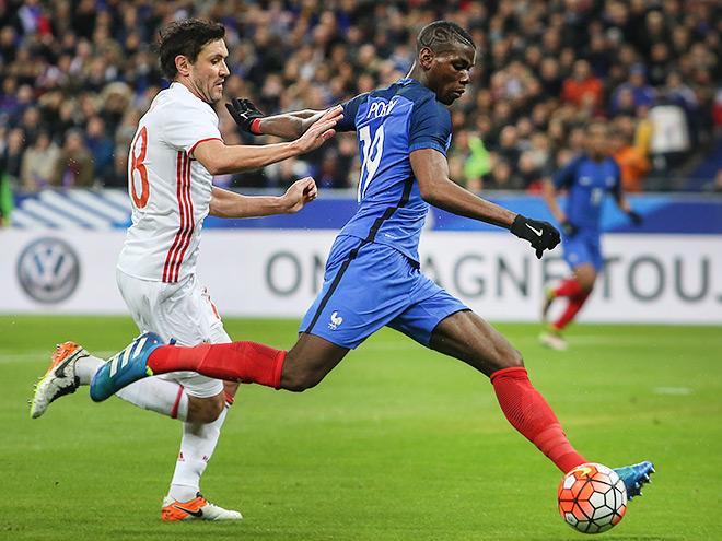 Товарищеский матч Франция — Россия