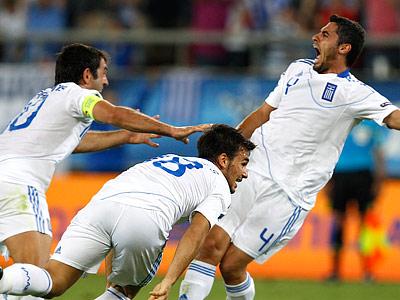 Молодым грекам и Англия нипочём