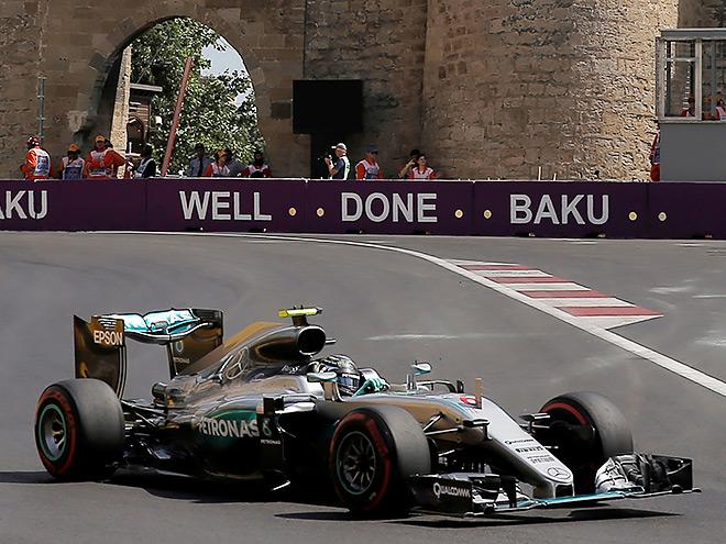 Нико Росберг выиграл Гран-при Европы Формулы-1