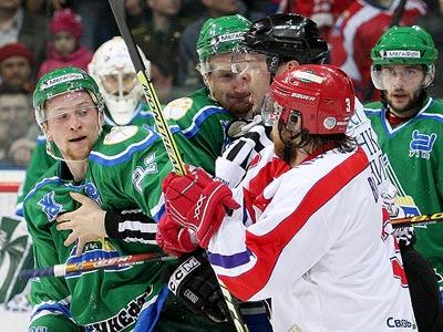 Первый матч Канарейкина, битва Малкина с Касутиным