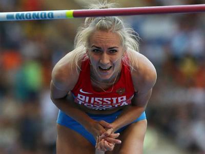 Школина стала чемпионкой мира в прыжках в высоту