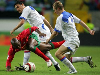 13 октября 2004. Португалия — Россия — 7:1