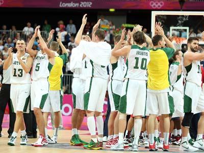 Лондон-2012. Баскетбол. Литва — соперник сборной России