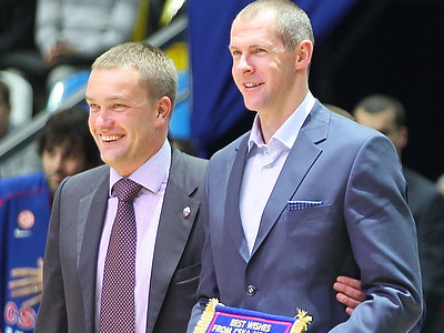 Рамунас Шишкаускас и Андрей Ватутин