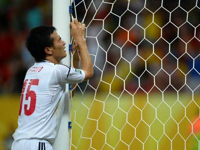 Защитник сборной Японии Ясуюки Конно