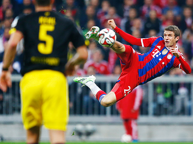 Прогноз ставок на матч «Боруссия» - «Бавария»