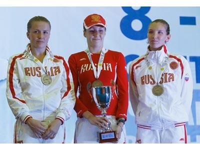 Женская сборная России по пятиборью