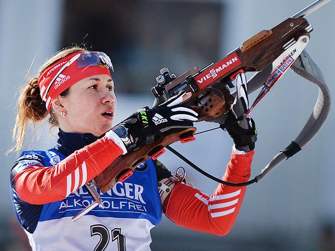 Дарья Виролайнен – призёр гонки в Антхольце
