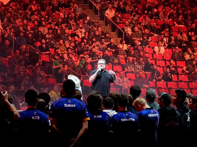 Церемония открытия и первый день плей-офф чемпионата мира по Dota 2