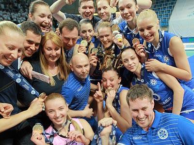 """""""Динамо"""" (Казань) — чемпион России — 2012/13"""