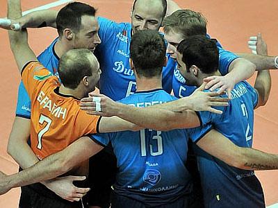 МВК «Динамо» (Москва) переиграл «Ресовию» в финале Кубка ЕКВ