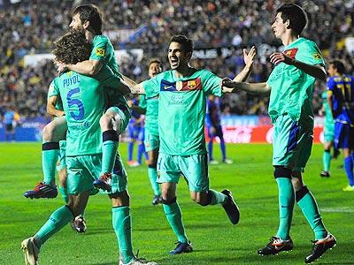 """Очередная победа """"Барселоны"""""""