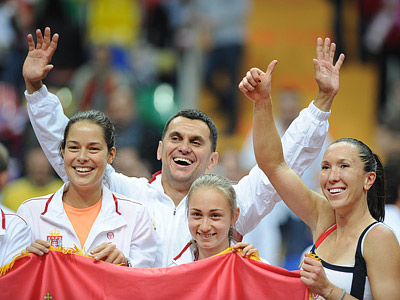 Первый финал Сербии в Кубке Федерации