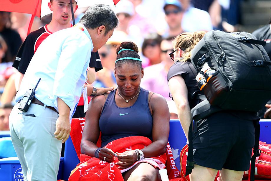 Уильямс может оказаться не готова к игре с Шараповой в 1-м круге US Open