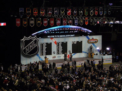 Российские юниоры на драфте НХЛ