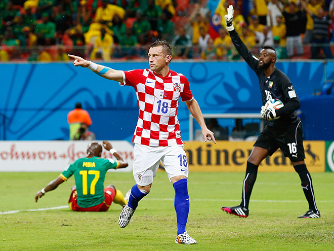 Камерун — Хорватия — 0:4. Ивица Олич