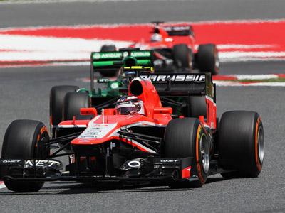 «Маруся» на Гран-при Испании Формулы-1