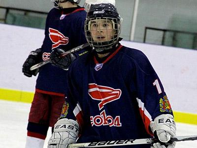 Красноярский хоккеист рассказал о школе «Сокола»