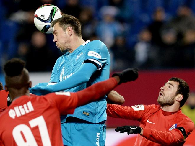 «Зенит» — «Мордовия» – 0:0. Обзор матча