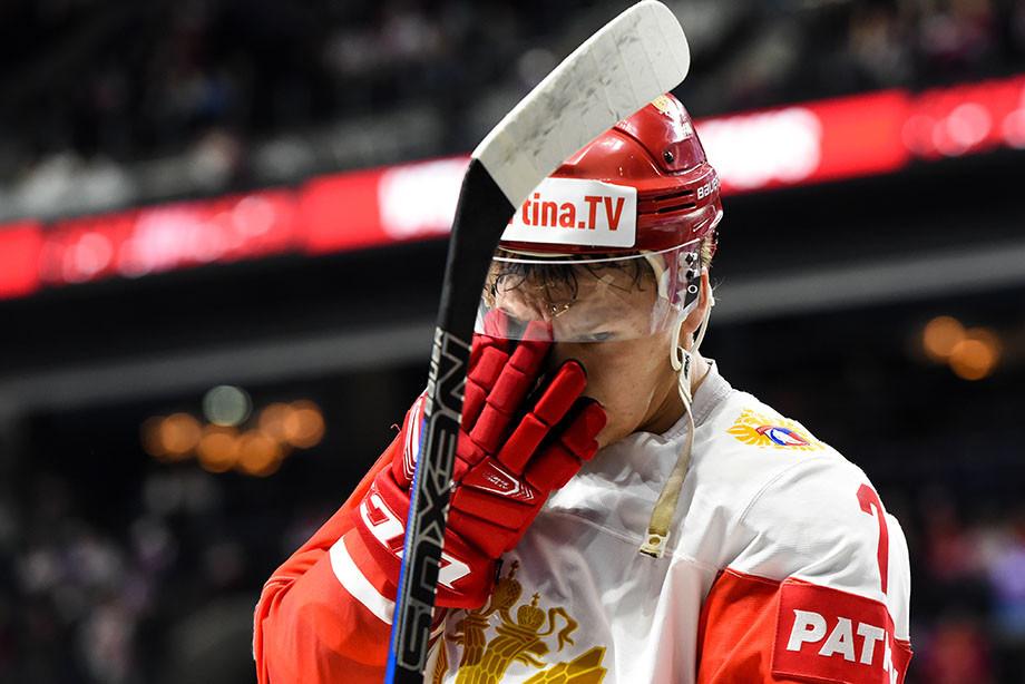 Кирилл Капризов, сборная России — Хоккей
