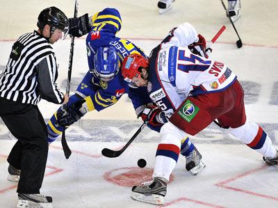 Сборная России уступила Швеции – 2:4