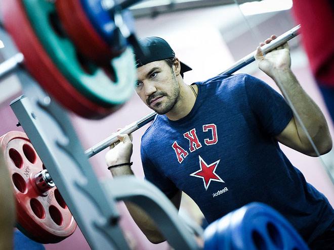 Самые тяжелые упражнения на сборах КХЛ