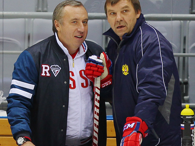Андрей Сафронов и Олег Знарок