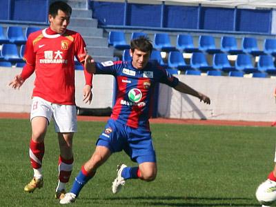 "ЦСКА – ""Гуанчжоу"" — 0:1"