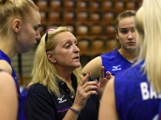 Светлана Сафронова – о победе на молодёжном ЧЕ по волейболу