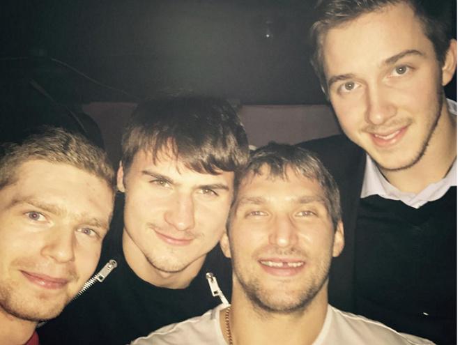 Лучшая пятёрка российских игроков в НХЛ